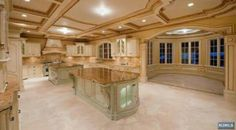 Gorgeous with cherry wood cabinets!