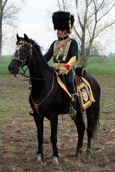 Uniform of Lefebvre-Desnouettes  colonel major des chasseurs a cheval del la garde.