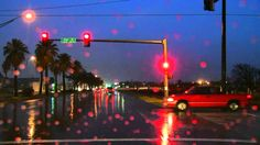 The Sound of Driving in The Rain Sleep Sounds Rainy Night, Winter Night, Sound Of Rain, Rain Sounds, Late Night Drives, Romantic Times, Galveston Texas, Night Train, Night Driving
