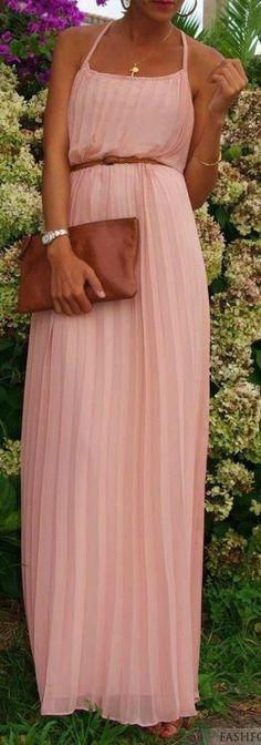 Pretty Pink Maxi