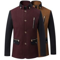 Like and Share if you want this  2016 Men's Wool Jackets WINTER Autumn Brand Men Woolen Coats male Jackets And Coats Mens Warm Wool Overcoat Size M-3XL     Tag a friend who would love this!     FREE Shipping Worldwide     Get it here ---> https://ihappyshop.com/2016-mens-wool-jackets-winter-autumn-brand-men-woolen-coats-male-jackets-and-coats-mens-warm-wool-overcoat-size-m-3xl/