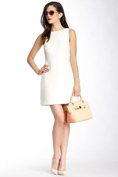 Ted Baker Lelli Textured Shift Dress by Assorted on @HauteLook