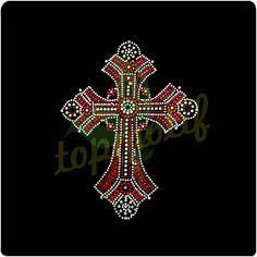 Cross Hotfix Rhinestone Designs  1.Easily transferred onclothing   2.Pas twashingtest  3.High temperature resistance