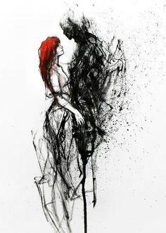 when death fell in love
