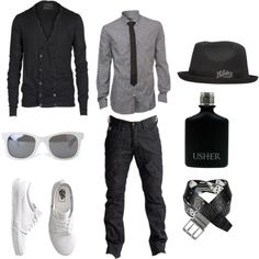 Awesome Teen outfit  Totally love gray and black together. Love this tie with the shirt.... Check more at https://24myshop.cf/fashion-style/teen-outfit-totally-love-gray-and-black-together-love-this-tie-with-the-shirt/