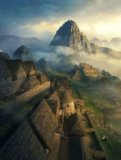 Amazing matte painting by Dylan Cole