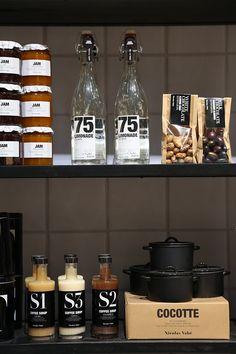 The Paper Mulberry: Bistro Kitchen Brand Packaging, Packaging Design, Branding Design, House Doctor, Paper Mulberry, Bistro Kitchen, Pretty Packaging, Cafe Restaurant, Label Design