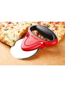 Pizza cutter red and black