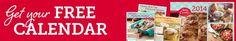 FREE 2014 Betty Crocker Calendar (First 10,000) Betty Crocker Members! - Raining Hot Coupons