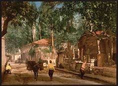 KaracaAhmet, Scutari, Constantinople, Turkey. Between 1890 and 1900.
