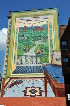 ArtWorks mural: The Vision of Samuel Hannaford Cincinnati Art, Good Neighbor, Inside Outside, Through The Window, Public Art, Murals, Past, Artworks, Street Art