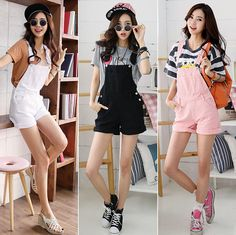 Candy Jeans Strap Jumpsuits Shorts Denim Tropical Rompers Women Overalls 2015 Bodysuit Macacao Feminino Monos Jeans Pants HY573 - http://www.freshinstyle.com/products/candy-jeans-strap-jumpsuits-shorts-denim-tropical-rompers-women-overalls-2015-bodysuit-macacao-feminino-monos-jeans-pants-hy573/