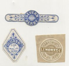 Very Rare early (small size ) Mineral water labesl for (never seen before) Derby Mineral Water companies , bottle labels Iron Gate. Very Rare early (small size ) for (never seen before) , Squash Drink, Gate 2, Water Company, Brown Derby, Mineral Water, Light Beer, Beer Label, Brewing Co, Bottle Labels