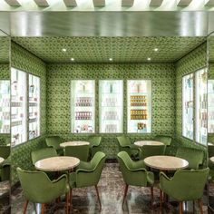 Pasticceria Marchesi, the Prada-owned pastry shop, opens a stylish new location in Milan Big Little Lies, Jil Sander, Milan Travel, La Sede, Architectural Digest, Bologna, Marchesa, Interior And Exterior, Outdoor Furniture Sets