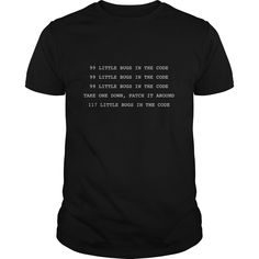 99 Little Bugs ✓ In The Code  Funny Programmers ᐊ TShirt99 Little Bugs In The Code  Funny Computer Programmers TShirtProgrammers BugsComputer