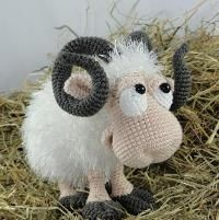 Rambert the Ram Amigurumi Pattern - via @Craftsy