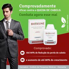 Vinda da Europa, a linha BIOXSINE foi criada especificamente para solucionar os problemas de queda de cabelo ou para quem deseja manter os cabelos saudáveis, volumosos e cheio de vida. Seu exclusivo Bio complexo B11, composto por um extrato único de ervas, combate efetivamente a perda dos fios, ao mesmo tempo que fortalece e engrossa os seus cabelos.  http://www.capellux.com/idioma-portugues/bioxsine.asp