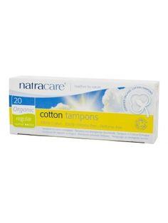 Absorvente interno orgânico Natracare Regular com 20 absorventes
