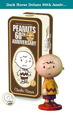 Dark Horse Deluxe 60th Anniversary Classic Peanuts: Charlie Brown Statue. Peanuts 60th Anniversary Classic Charlie Brown Figure, as you haven't seen him in decades! Welcome to what promises to be a year long celebration of Charles Schulz's masterpiece, peanuts! Peanuts premiered on October 2, 1950 in eight newspapers, and it grew to become probably the most popular comic strip ever. In an unprecedented move, united media has returned to the original look of the characters from 1950…