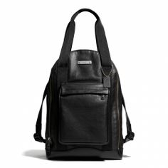 The Coach Thompson Urban Backpack in Leather