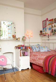 ZOOMDECO: Dormitorios vintage para nenas