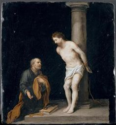 Christ The Column - Bartolome Esteban Murillo