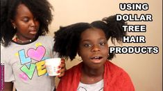 My 10 years old sister does my hair using Dollar Tree Natural Hair Products https://youtu.be/U2xNuaf3YHo