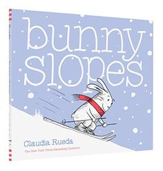 Interactive book.  Bunny Slopes by Claudia Rueda https://www.amazon.com/dp/1452141975/ref=cm_sw_r_pi_dp_x_OHyZxbCWYKDGN