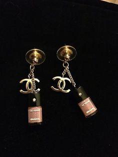 Chanel Lipgloss Earrings