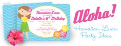 A Hawaiian luau is a great theme for a summer pool party, and we've pulled together some fun ideas to help make your party planning easy! Luau Theme Party, Hawaiian Luau Party, Summer Pool Party, Luau Birthday, Its My Bday, Festival Decorations, Childrens Party, Lilo And Stitch, Hula