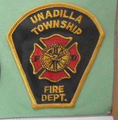 OLD UNADILLA TOWNSHIP FIRE DEPT PATCH MI MICHIGAN POLICE RESCUE EMS EMT