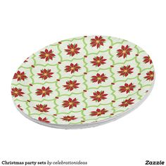 Christmas party sets paper plate