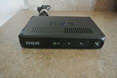 RCA Digital TV Converter Box DTV Tuner DTA800B1L NO REMOTE Nice Works Great #RCA