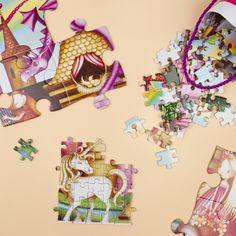 Puzzle je nesmrteľnou hračkou, ktorá zabaví všetky generácie. Vrátane malých princezien, pre ktoré sme pripravili takéto princeznovské puzzle od značky Crocodile Creek. Dostanete ich v rôznych motívoch a veľkostiach. Crocodiles, Disney Characters, Fictional Characters, Puzzle, Disney Princess, Crocodile, Riddles, Fantasy Characters, Disney Princesses