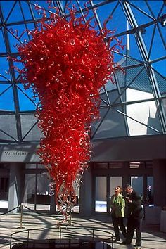 Dale Chihuly Glass Chandelier