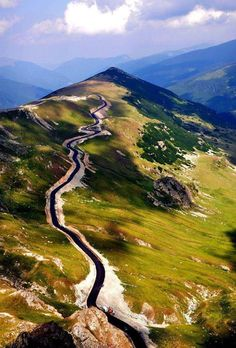 Transalpina Road Romania -Der Weg ist das Ziel -The journey is the destination! Turism Romania, Visit Romania, Romania Travel, Beautiful Roads, The Beautiful Country, Beautiful Places To Visit, Places To Travel, Places To See, Dangerous Roads