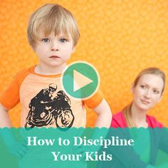 See our expert explain the 4 key tips that make it easier to discipline your kids.