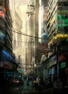 Cyberpunk by Raphael Lacoste