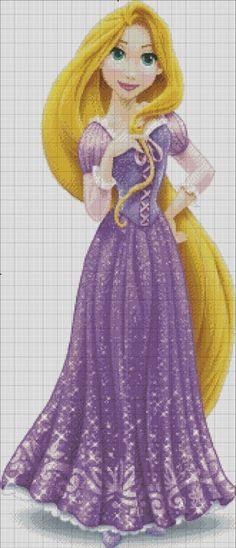 [Disney Princess] Rapunzel by RoseXinh
