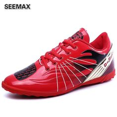 2016 Indoor Soccer Shoes Men's Soccer Cleats Football Shoes Men Brands AG IC FG HG Turf Leather Boots Trainer Sneaker