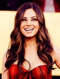 Mila Kunis, i think this will be my next hair color