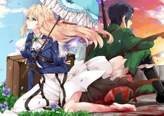 Read 15 from the story ✉✒VIOLET EVERGARDEN ✉✒ by _-cats_kawaii-_ (🌸kartoffel 🌸) with 261 reads. Chica Anime Manga, Kawaii Anime, Anime Art, Violet Evergarden Gilbert, Violet Evergreen, Violet Evergarden Anime, Satsuriku No Tenshi, Otaku, Anime Life
