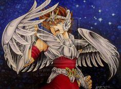 Seiya, In memory of Shingo Araki by Suki-Manga on DeviantArt