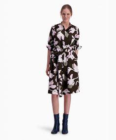 Bold start for the new season | Katleija printed fashion - Marimekko.com Marimekko, Cloth Bags, Fashion Prints, New Dress, Feminine, Dresses For Work, Stylish, Printed, Pattern