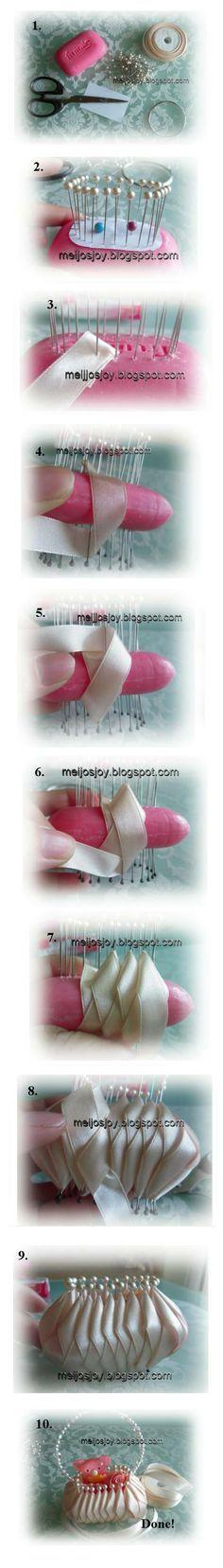 Meijo\'s Joy: A basket of soap! -Budget Craft