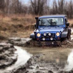 Mud...like a boss