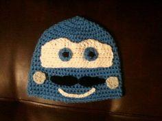 Cars 2 Finn McMissile Crochet Hat by JessicaSayreCrochet on Etsy, $18.00