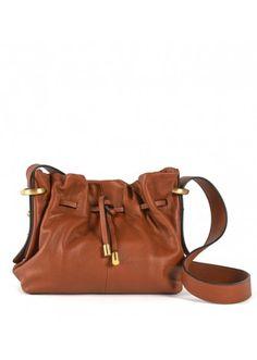 Lupo Barcelona - Karina Small Avellana #botd #handbags #fashion #barcelonastyle #leather #minibucketbag
