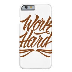 Purchase a new Work case for your iPhone! Shop through thousands of designs for the iPhone iPhone 11 Pro, iPhone 11 Pro Max and all the previous models! Iphone Case Covers, Phone Cases, 6 Case, New Work, Work Hard, Iphone 6, Create Your Own, Calligraphy, Lettering