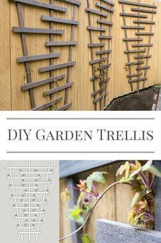 Woodworking Joints Build this garden trellis and watch your vines climb! Free woodworking plans at The Handyman's Daughter!Woodworking Joints Build this garden trellis and watch your vines climb! Free woodworking plans at The Handyman's Daughter! Awesome Woodworking Ideas, Easy Woodworking Projects, Diy Wood Projects, Garden Projects, Woodworking Classes, Woodworking Workshop, Garden Ideas, Woodworking Supplies, Woodworking Joints
